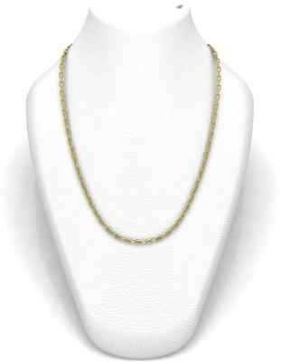 Avsar 16BELCHER18K35GM24IN Belcher and Rollo Chain Precious Chain(Yellow Gold 18kt NA)
