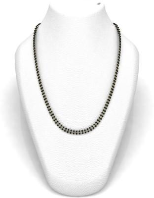 Avsar 16DBLMGL18K4GM24IN Bead Chain Precious Chain(Yellow Gold 18kt NA)