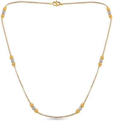 ZKD Jewels ZKDC020 Ball Chain Precious Chain(Yellow Gold 22kt NA)