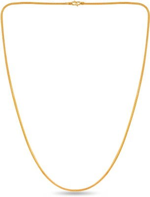 ZKD Jewels ZKDC027 Hammered Chain Precious Chain(Yellow Gold 22kt NA)