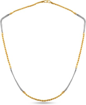 ZKD Jewels ZKDC026 Rope Chain Precious Chain(Yellow Gold 22kt NA)