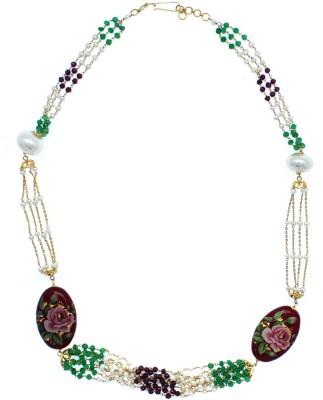 JewelMantra GCC18/602832 Bead Chain Precious Chain(Yellow Gold 18kt NA)