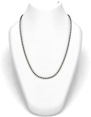 Avsar 16MANGAL18K25GM24IN Bead Chain Precious Chain(Yellow Gold 18kt NA)