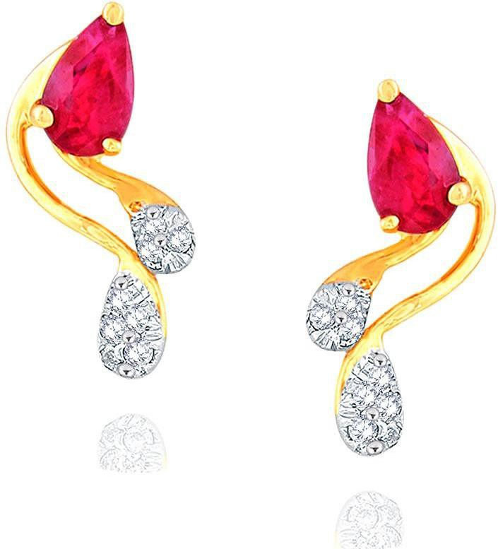 Deals - Kalol - Under ₹9,999 <br> Gold & Diamond Earrings<br> Category - jewellery<br> Business - Flipkart.com