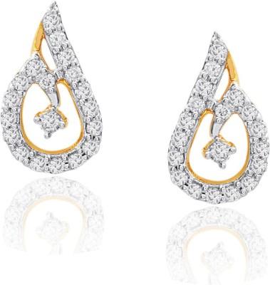 Livingstones Living Stones Precious Gold Earing HER1596 Yellow Gold 18kt Diamond Stud Earring