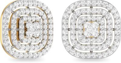 WearYourShine by PC Jewellers PC Jeweller The Malvina Yellow Gold 18kt Diamond Stud Earring at flipkart