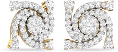 WearYourShine by PC Jewellers PC Jeweller The Lemuela Yellow Gold 18kt Diamond Stud Earring at flipkart