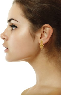 P.N.Gadgil Jewellers Traditional Design Yellow Gold 22kt Drop Earring(Yellow Gold Plated) at flipkart