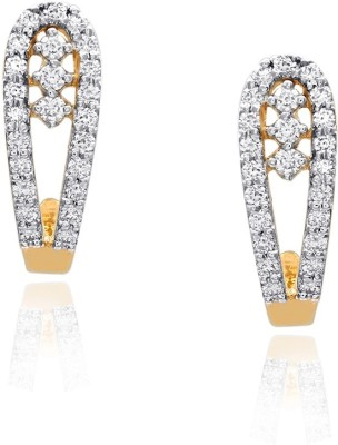 Livingstones Living Stones Precious Gold Earing ERA1895 Yellow Gold 18kt Diamond Stud Earring