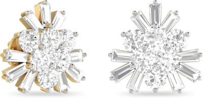 WearYourShine by PC Jewellers PC Jeweller The Evalyn Yellow Gold 18kt Diamond Stud Earring at flipkart