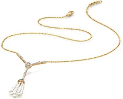 BlueStone 9424_SI_J_18 Lariat Precious Necklace