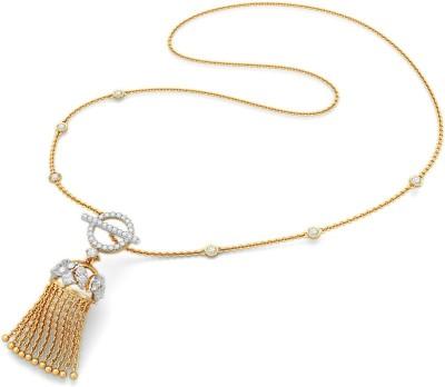 BlueStone 9409_SI_H_18 Lariat Precious Necklace