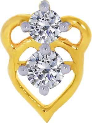 Kalyan Jewellers Fancy 18kt Diamond Yellow Gold Stud