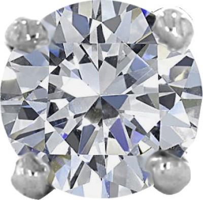 Kalyan Jewellers Diamond Yellow Gold Stud