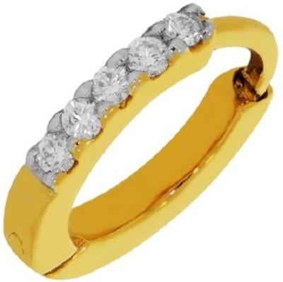 Kalyan Jewellers Saniya Nosepin 18kt Diamond Yellow Gold Ring