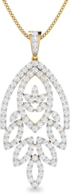 WearYourShine by PC Jewellers PC Jeweller The Amariah 18kt Diamond Yellow Gold Pendant at flipkart