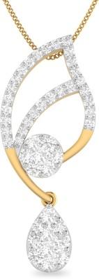 WearYourShine by PC Jewellers PC Jeweller The Aleeza 18kt Diamond Yellow Gold Pendant at flipkart