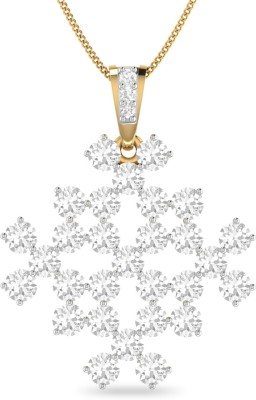 WearYourShine by PC Jewellers PC Jeweller The Abagail 18kt Diamond Yellow Gold Pendant at flipkart
