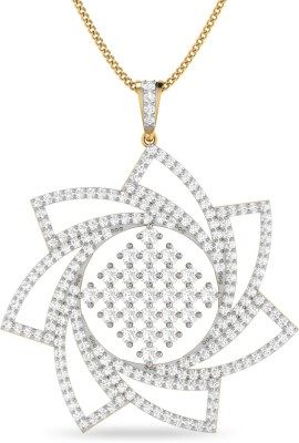 WearYourShine by PC Jewellers PC Jeweller The Alina 18kt Diamond Yellow Gold Pendant at flipkart
