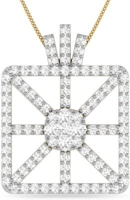 WearYourShine by PC Jewellers PC Jeweller The Nakoma 18kt Diamond Yellow Gold Pendant at flipkart