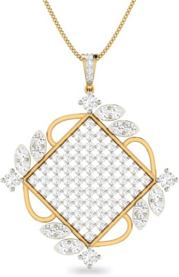 WearYourShine by PC Jewellers PC Jeweller The Keriana 18kt Diamond Yellow Gold Pendant at flipkart