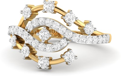 WearYourShine by PC Jewellers PC Jeweller The Kellie 18kt Diamond Yellow Gold ring at flipkart