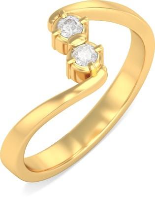 BlueStone Olina 22kt Diamond Yellow Gold ring