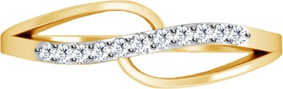 Jacknjewel Precious Metal 18kt Diamond Yellow Gold ring