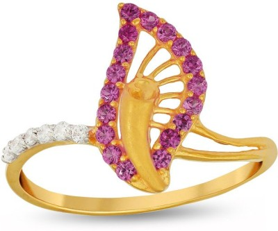 P.N.Gadgil Jewellers Nature 22kt Yellow Gold ring(Yellow Gold Plated) at flipkart