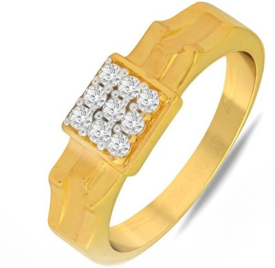 P.N.Gadgil Jewellers Elegant 22kt Yellow Gold ring(Yellow Gold Plated) at flipkart