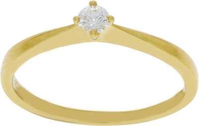 C. Krishniah Chetty Jewellers 18kt Yellow Gold ring at flipkart