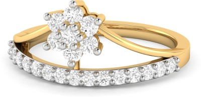WearYourShine by PC Jewellers PC Jeweller The Cadi 18kt Diamond Yellow Gold ring at flipkart
