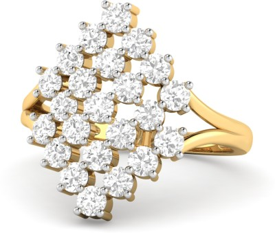 WearYourShine by PC Jewellers PC Jeweller The Catlyn 18kt Diamond Yellow Gold ring at flipkart