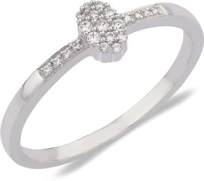 C. Krishniah Chetty Jewellers 18kt White Gold ring at flipkart