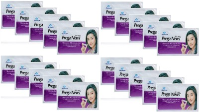 Mankind Prega news combo of 20 Pregnancy Test Kit(20 Tests)