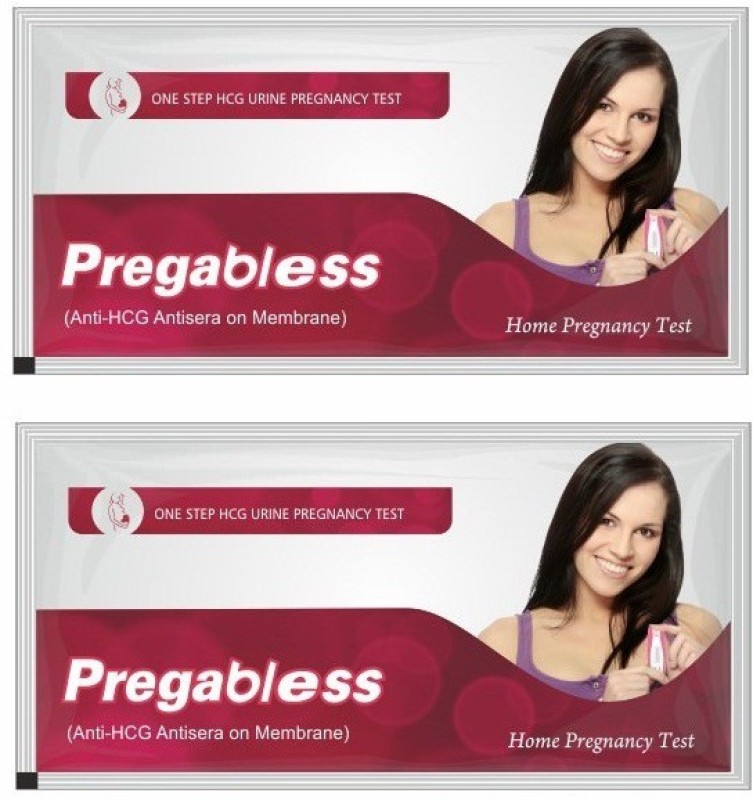 Pregabless Home (pack of 2) Pregnancy Test Kit(2 Tests)