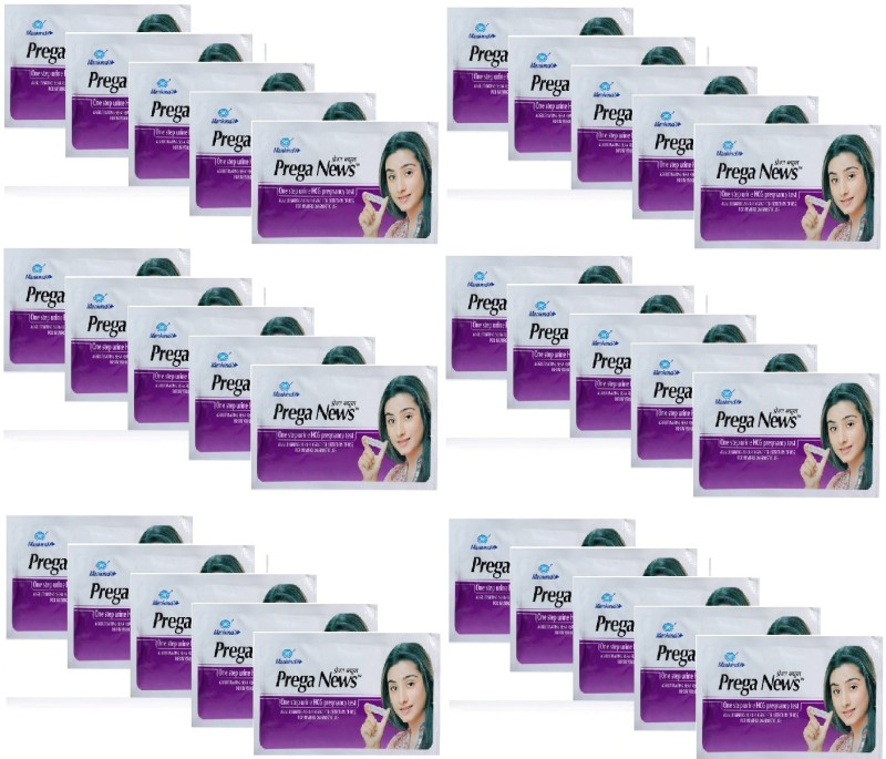 Mankind Prega news combo of 30 Pregnancy Test Kit(30 Tests)