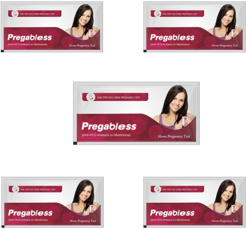 Leeford Prega Bless(5pack) Pregnancy Test Kit(5 Tests)
