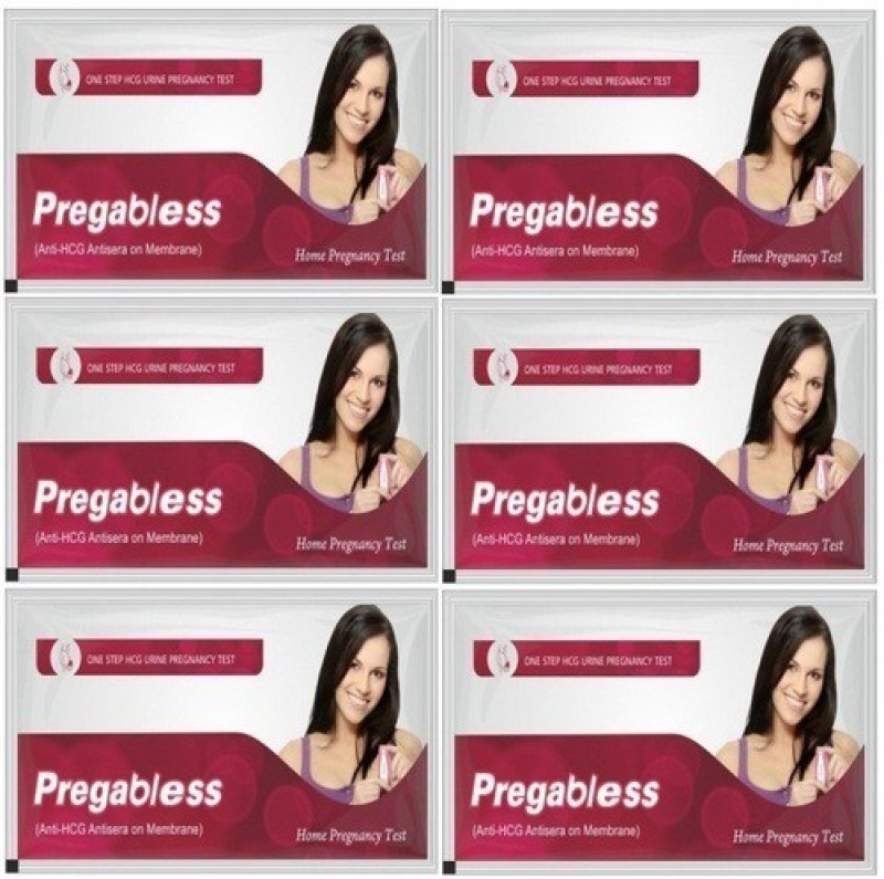 Leeford pregabless5 Pregnancy Test Kit(6 Tests)