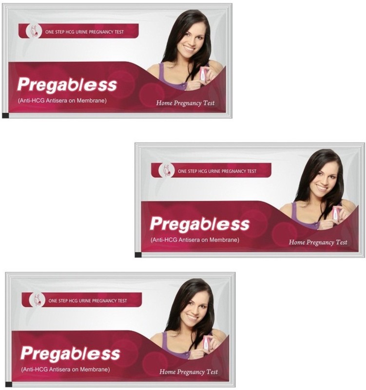 Leeford Prega Bless Pack Of 3 Pregnancy Test Kit(3 Tests)