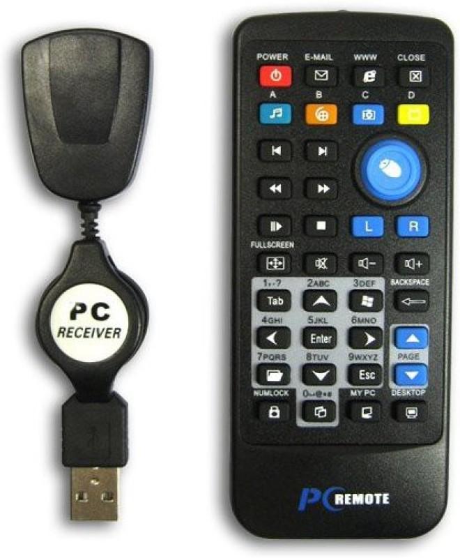 NPPlastics NP00053X IR PC Remote Presenter(Black)