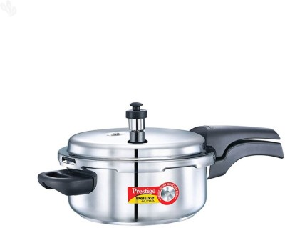 Prestige Deluxe Alpha Stainless Steel 3 L Pressure Cooker (Induction Bottom,Outer Lid)