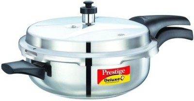 Prestige Senior Pan 4.0 L Pressure Pan(Induction Bottom, Stainless Steel)