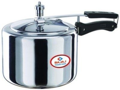 Bajaj Majesty Aluminium 3 L Pressure Cooker (Induction Bottom, Inner Lid)