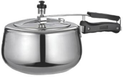 Quba Aluminium 3 L Pressure Cooker (Induction Bottom,Inner Lid)