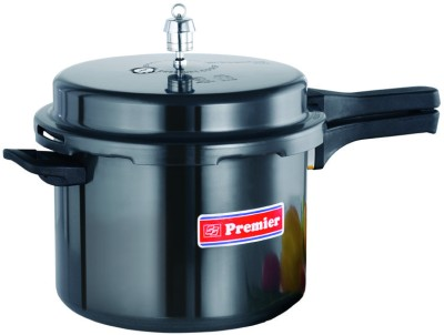 Premier Trendy Black Aluminium 2 L Pressure Cooker (Outer Lid)