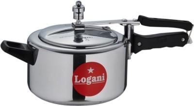Logani Aluminium 4 L Pressure Cooker (Inner Lid)