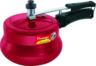 Prestige Nakshatra Plus Red Handi Aluminium 3 L Pressure Cooker (Inner Lid)