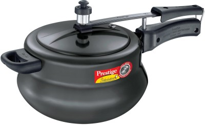 Prestige Nakshatra Plus Aluminium 6.5 L Pressure Cooker (Induction Bottom,Inner Lid)