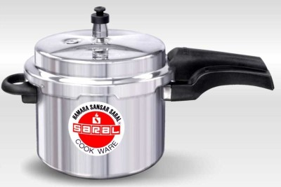 Saral-FS00000309-Aluminium-3-L-Pressure-Cooker-(Induction-Bottom,Outer-Lid)